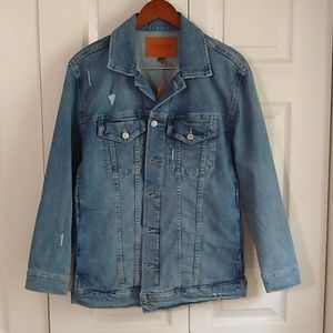 Lucky Brand Tom Boy trucker Denim jacket size smal